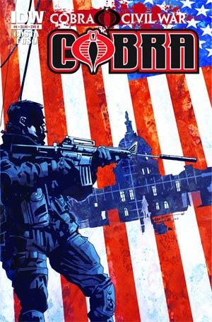 Cobra #6 Regular Cover B (Cobra Civil War Tie-In)