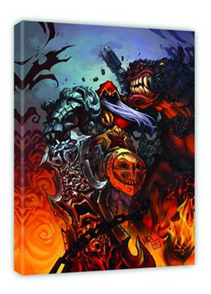 Darksiders Sword Of Power Fine Art Canvas Giclee Small