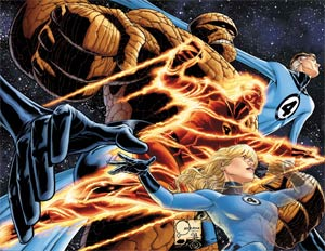 Fantastic Four By Joe Quesada Poster