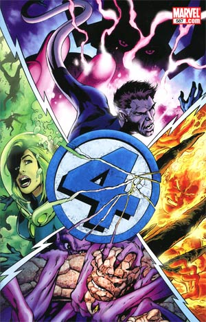 Fantastic Four Vol 3 #587 Cover B 1st Ptg Regular Alan Davis Cover Without Polybag