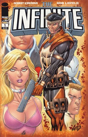 Infinite #1 1st Ptg Regular Cover B Rob Liefeld Bo (Gray Armor) Cover