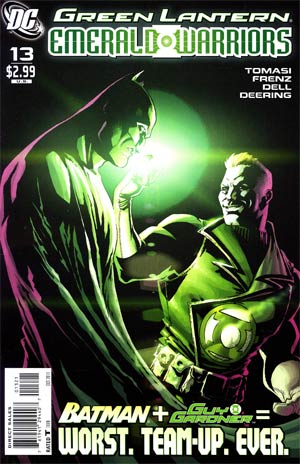 Green Lantern Emerald Warriors #13 Cover B Incentive Pete Woods Variant Cover