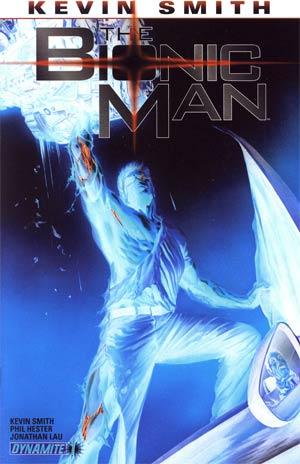 Bionic Man #1 Incentive Alex Ross Negative Art Cover