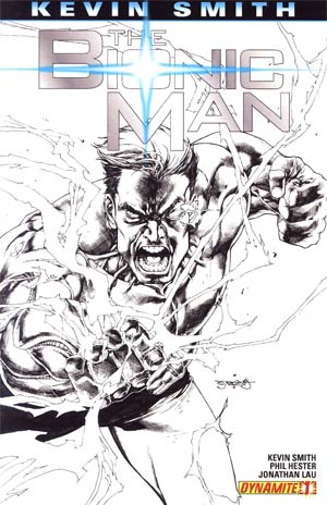 Bionic Man #1 Incentive Stephen Segovia Sketch Cover