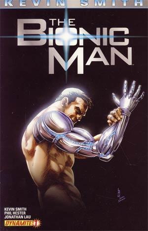 Bionic Man #1 1st Ptg Regular Jonathan Lau Cover