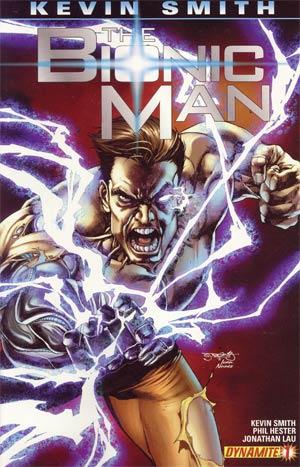 Bionic Man #1 1st Ptg Regular Stephen Segovia Cover