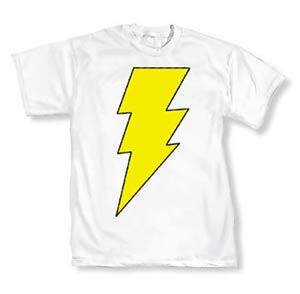 Mary Marvel Symbol T-Shirt Large