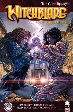 Witchblade #152 Cover B Diego Bernard & Fred Benes