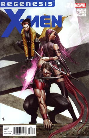X-Men Vol 3 #21 (X-Men Regenesis Tie-In)