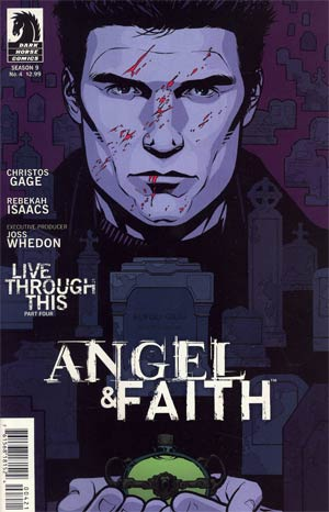 Angel And Faith #4 Cover B Variant Rebekah Issacs Cover