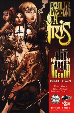 Executive Assistant Iris Vol 2 #5 Cover A Edu Francisco
