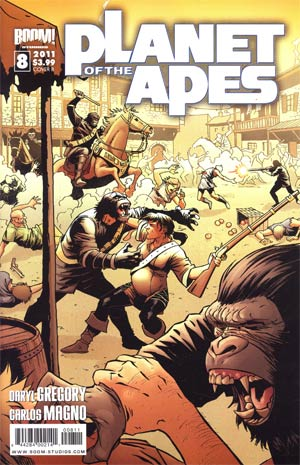 Planet Of The Apes Vol 3 #8 Regular Cover B