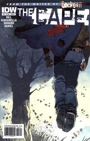 Joe Hills The Cape #3 Regular Cover B