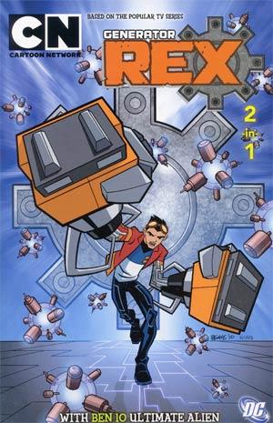 Cartoon Network 2-In-1 Ben 10 Ultimate Alien And Generator Rex TP