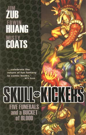 Skullkickers Vol 2 Five Funerals And A Bucket Of Blood TP