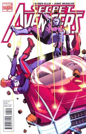 Secret Avengers #16 Incentive Jamie McKelvie Variant Cover