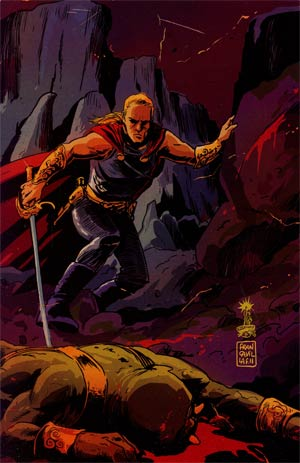 Warlord Of Mars Fall Of Barsoom #2 Incentive Francesco Francavilla Virgin Cover