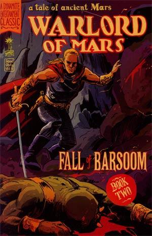 Warlord Of Mars Fall Of Barsoom #2 Regular Francesco Francavilla Cover