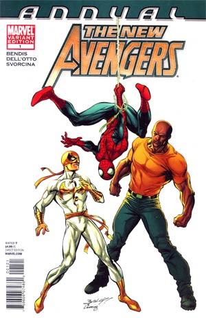 New Avengers Vol 2 Annual #1 Incentive Marvel Architects Variant Cover