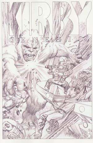 Kirby Genesis #3 Cover D Incentive Alex Ross Sketch Cover