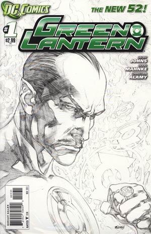 Green Lantern Vol 5 #1 Incentive Ivan Reis Sketch Cover