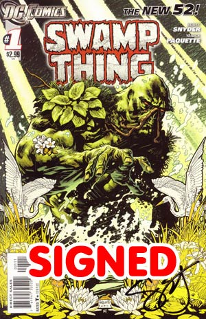 Swamp Thing Vol 5 #1 Signed By Scott Snyder