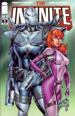 Infinite #2 Incentive Rob Liefeld Variant Cover