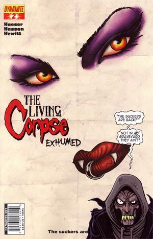 Living Corpse Exhumed #2 Ken Haeser Cover
