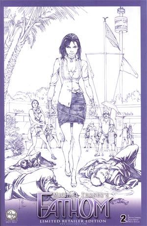 Fathom Vol 4 #2 Cover C Incentive Alex Konat Sketch Cover