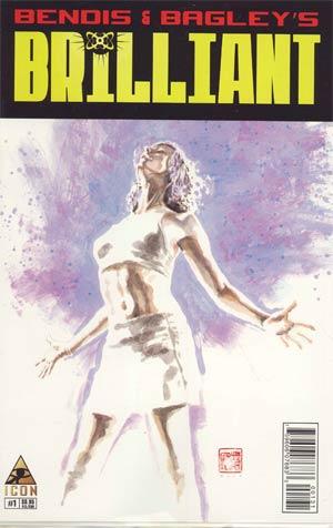 Brilliant #1 Incentive David Mack Variant Cover