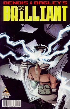 Brilliant #1 Incentive Michael Avon Oeming Variant Cover