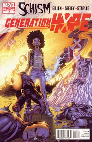 Generation Hope #10 2nd Ptg Salvador Espin Variant Cover (X-Men Schism Tie-In)