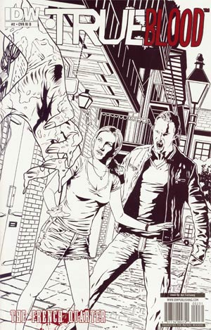 True Blood French Quarter #2 Incentive Joe Corroney Sketch Cover