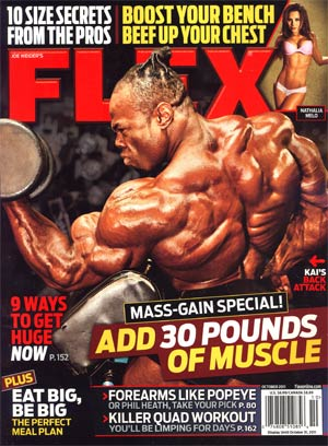 Flex Magazine Vol 29 #8 Oct 2011