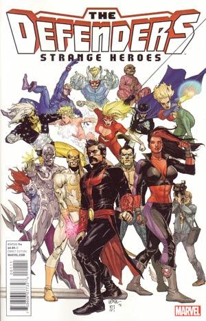 Defenders Strange Heroes (Shattered Heroes Tie-In)