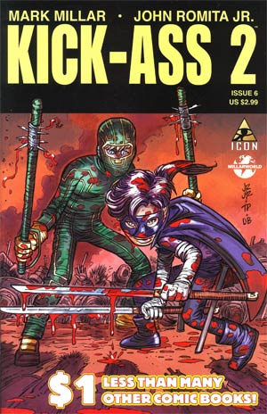 Kick-Ass 2 #6 Cover A Regular John Romita Jr Cover