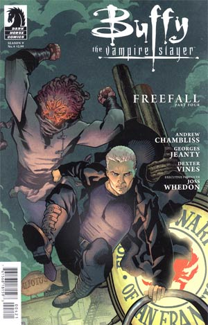 Buffy The Vampire Slayer Season 9 #4 Variant Georges Jeanty Cover