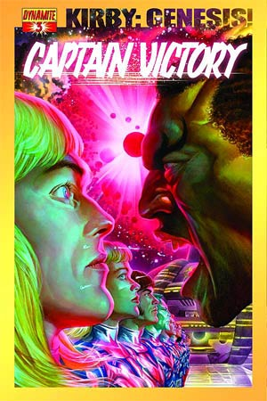 Kirby Genesis Captain Victory #3 Cover A Regular Alex Ross Cover