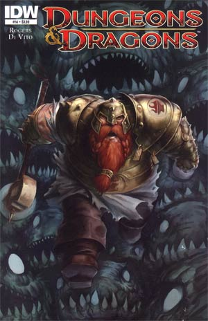 Dungeons & Dragons #14 Cover A Regular Tyler Walpole Cover