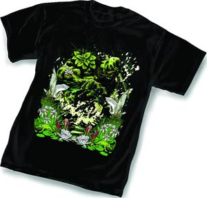 Swamp Thing Vol 5 #1 By Yanick Paquette T-Shirt Large