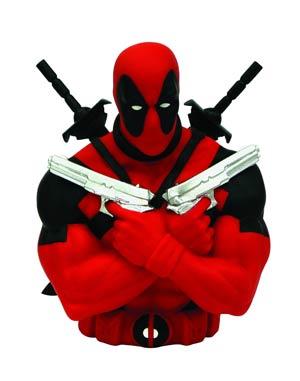 Marvel Bust Bank - Deadpool