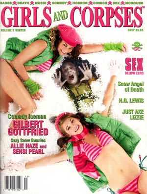 Girls And Corpses Magazine Vol 5 Winter 2011