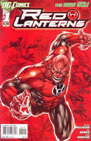 Red Lanterns #1 2nd Ptg