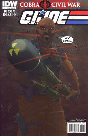 GI Joe Vol 5 #6 Regular Cover A (Cobra Civil War Tie-In)