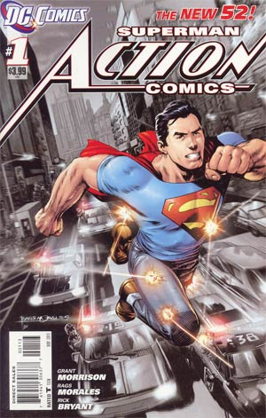 Action Comics Vol 2 #1 Cover F 3rd Ptg Rags Morales Variant Cover