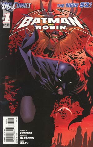 Batman And Robin Vol 2 #1 Cover B 2nd Ptg