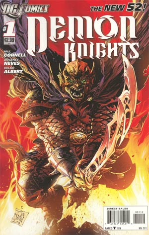 Demon Knights #1 Cover B 2nd Ptg