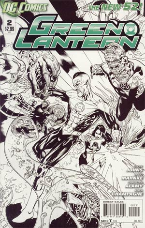 Green Lantern Vol 5 #2 Incentive Doug Mahnke Sketch Cover