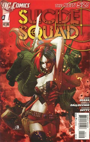 Suicide Squad Vol 3 #1 2nd Ptg