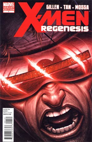 X-Men Regenesis #1 Incentive Morry Hollowell Variant Cover